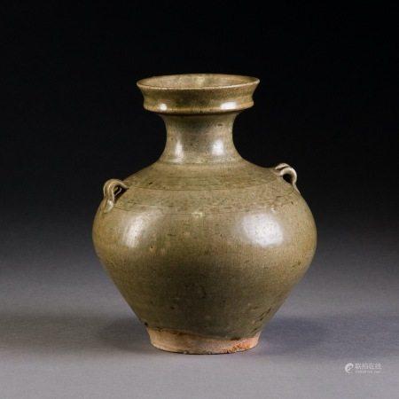 東晉 越窯雙繫瓶