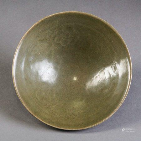 宋 耀州窯印花碗