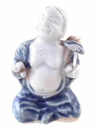 Chinese figure of one of the He He Erxian