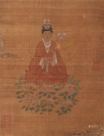 佚名《佛像》