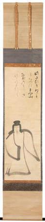 Manner of Konoe Nobutada 近衛信尹 (1565-1614) Tenjin (Sugawara no Michizane) Momoyama (1573-1615) or Edo (1615-1868) period, 17th century (2)