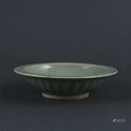 Song Dynasty style Longquan Kiln Celadon Engraved
