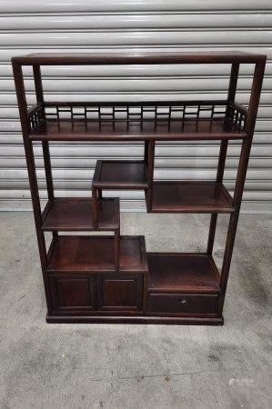 中式紅木古董架
