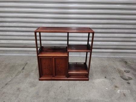 紅木小茶櫃