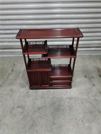 紅木精品茶道小櫃