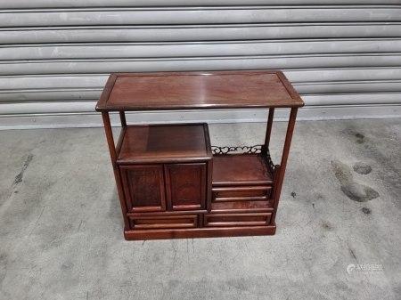 酸枝木茶道用小茶櫃