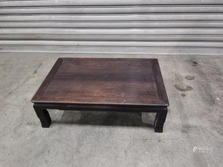 唐木長方形卓