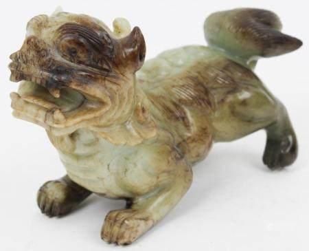 Large Chinese Jade Foo Dog