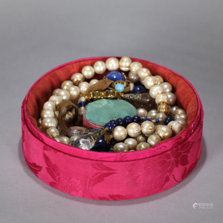 Pearl Necklace Qing Dynasty Qing Dynasty