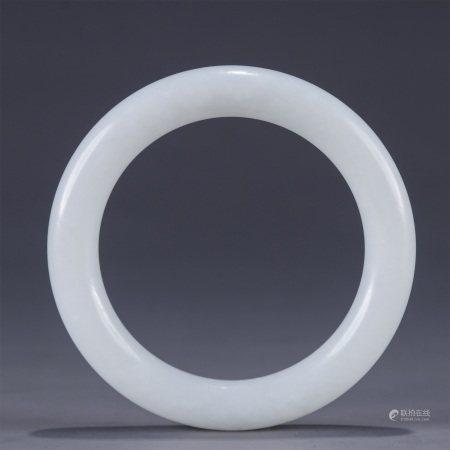 White Jade Bangle