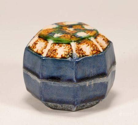 Tang Dynasty - Sancai Octagon Box