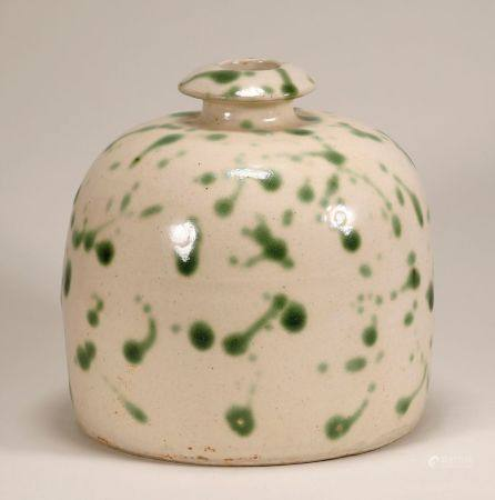 Song Dynasty - Cizhou Ware with Green Dots Jar