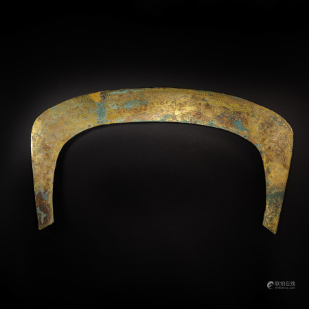 GOLD AND SILVER HORSE ACCESSORIES, HAN DYNASTY, CHINA
