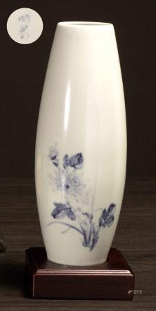 曉芳窯 珠光青花橄欖瓶