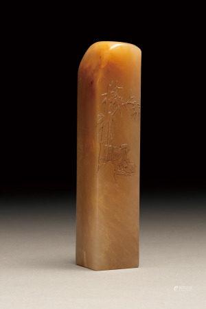 巴林石方印