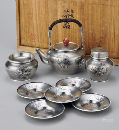 继山锡製茶器一式