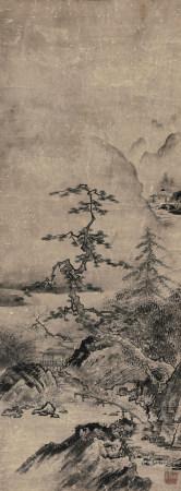 佚名山水图