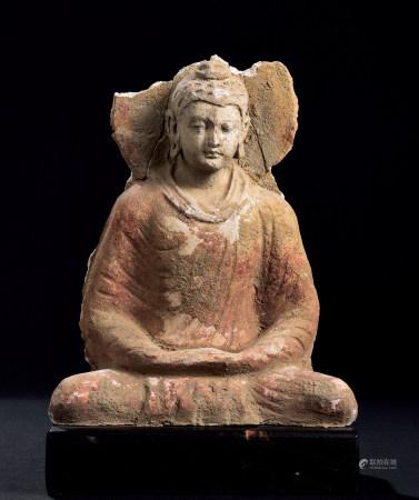 二~三世纪犍陀罗座像
