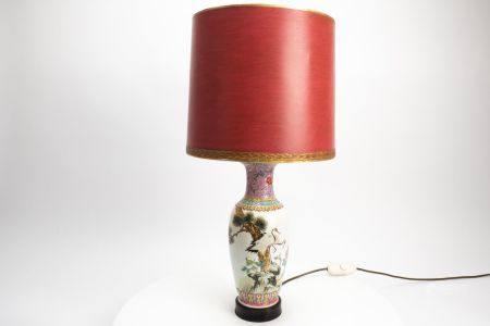 Porzellan-Lampe/Vase
