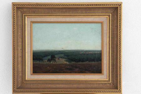 """Gemälde """"In der Eifel"""""""
