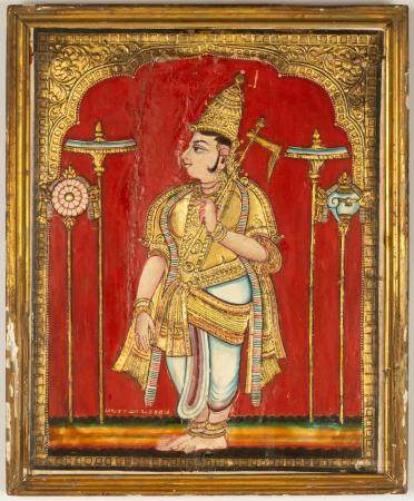 Indian Painting of a Deity