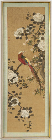 Unknown artists, ink and colour on silk. Qing dynasty, early 20th century.