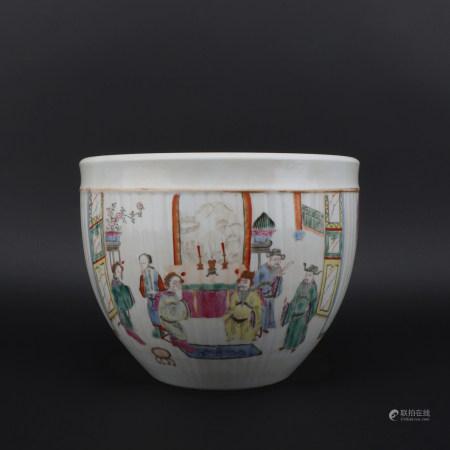 A Tong zhi cai 'figure' jar