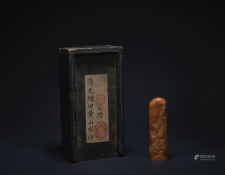 A  Shoushan Stone figure seal