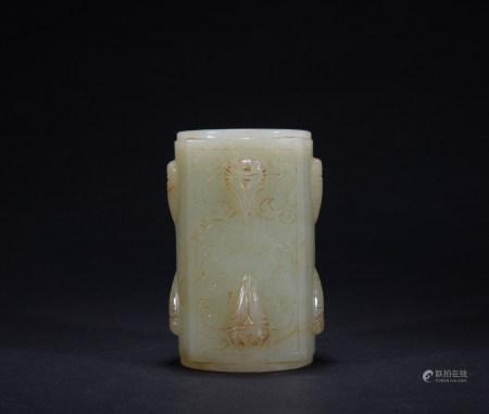 A jade Cong