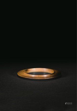 清代  凸领玉环