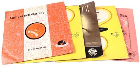 Mini disques, dont de nombreux classiques, des années 50 et 60