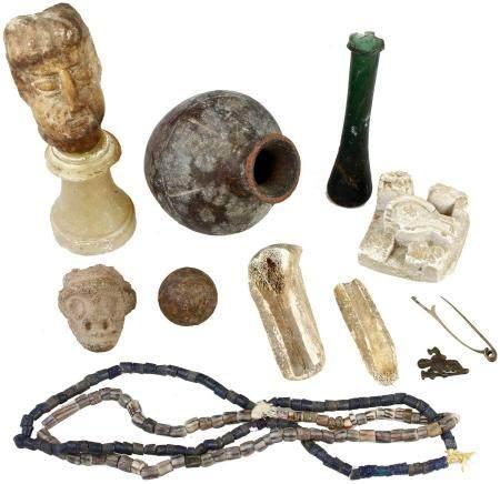 Acheter diverses pièces archéologiques