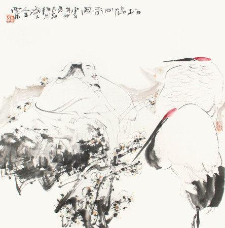 王西京  梅鶴同春