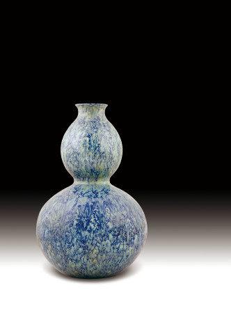 清  鈞釉大吉瓶 (大清乾隆年製)