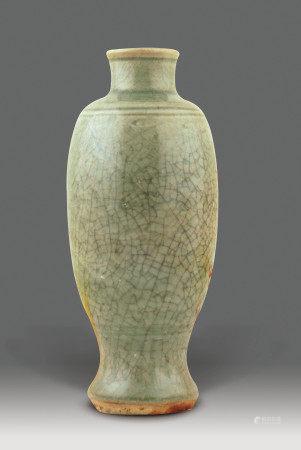 明  龍泉釉瓶