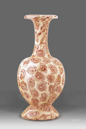 唐  絞釉瓶