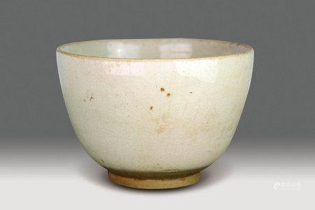 宋  白釉碗