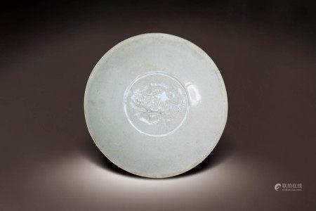 宋  定窯雙魚紋碗