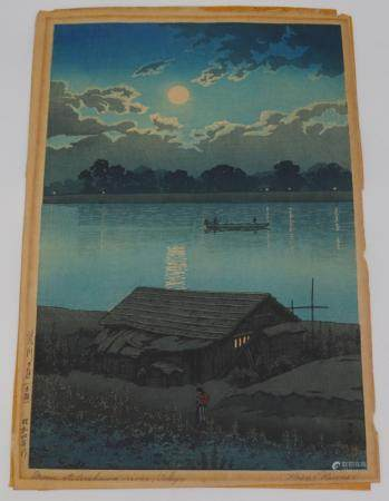 HASUI KAWASE (Japanese, 1883-1957).