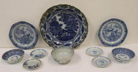 Chinese Grouping Of Porcelain Items.
