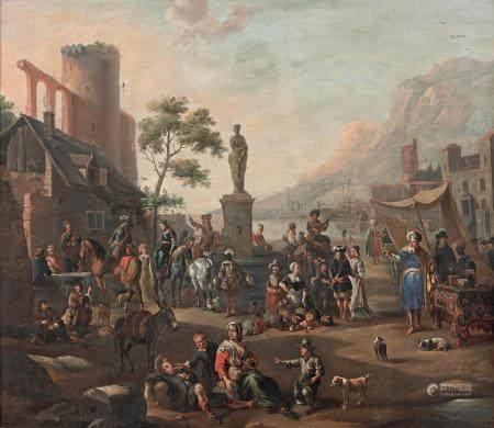 Entourage d'Antoine GOUBAU (1616 1698)