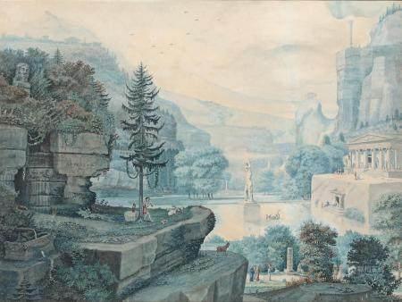 ÉCOLE FRANÇAISE de la fin du XVIIIe siècle
