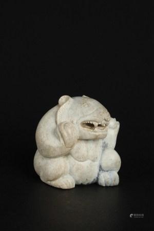 清 站玉熊