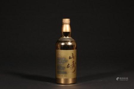 1983年山崎60周年金瓶纪念威士忌