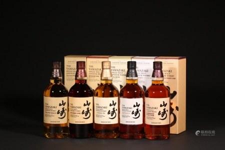 山崎 2020 Edition 5款限定系列威士忌