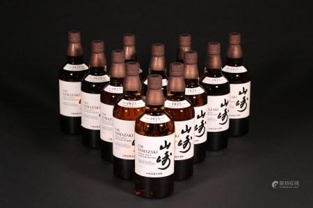 山崎1923 威士忌 12支