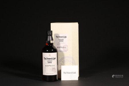 山崎The Owner's Cask 1994-2005威士忌