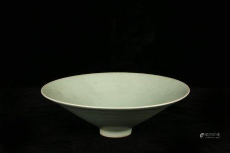 Chinese Green Glazed Porcelain Bowl