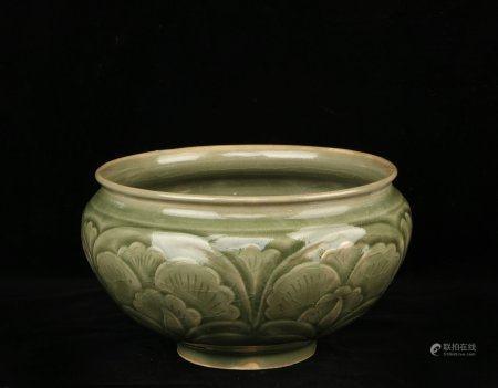 Chinese Green Glaze Porcelain Furnace