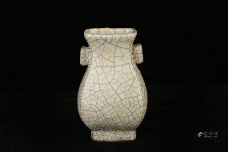 Chinese Ge Glazed Porcelain Bottle